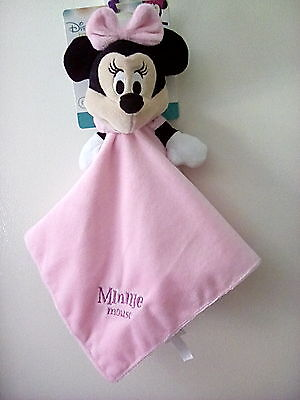 Disney Minnie Mouse Pink Security Blanky SALE!!