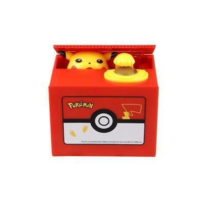 New Anime Pikachu Bank Moving Electronic Coin Money Piggy Bank Box Gifts