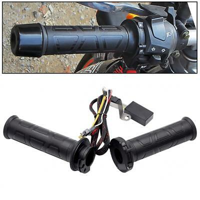 22mm Heated Grips Handlebar Hand Hot Warmers Grip Fits Universal Motorcycle Moto