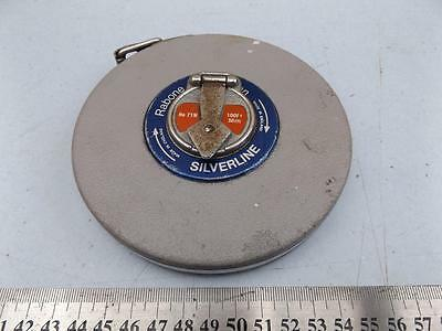 RABONE METAL CASED TAPE MEASURE INCHES 100 FEET / 30 METER No: 71W
