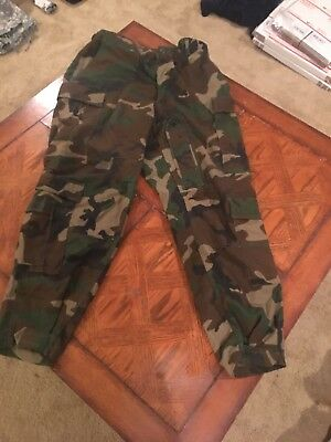 Us Army aircrew Woodland Camo Class 1 IABDU LARGE SHORT