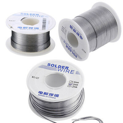 1.0mm Rosin Core Weldring Solder Wire 63/37 Tin Lead Industrial 50/100/200g