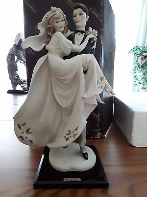 """Armani limited edition """"happiness forever """" 207/7500 porcelain figurine  wedding"""