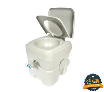 Camco Standard Portable Travel Toilet, Designed for Camping, RV, Boating And Ot