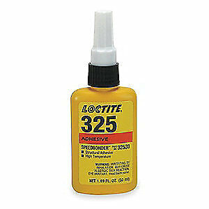 LOCTITE Acrylic Adhesive,Bottle,50mL,Brown, 32530