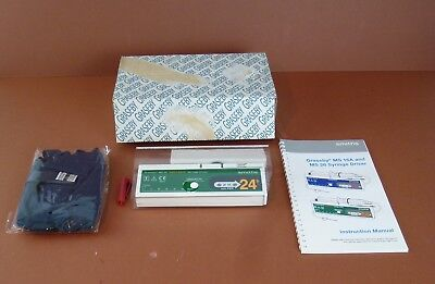 Graseby Ms26 24 Hour Daily Rate Syringe Driver+Case+Pounch