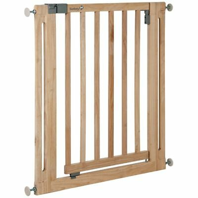 Safety 1st Pet Baby Safety Gate Barrier Guard Easy Close 77 cm Wood 24040100