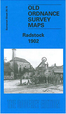 Old Ordnance Survey Map Radstock 1902 Wells Road Writhlington Tyning Colliery