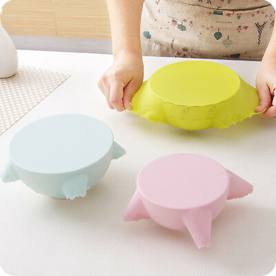 Silicone Film Alimentaire Emballage Couvercle Etirable Lavable Cuisine Outil Pad