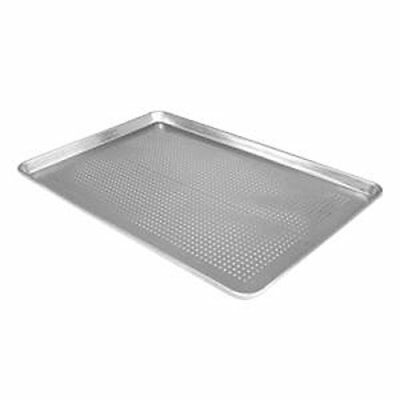 "FREEDco 18"" X 13"" HALF SIZE ALUMINUM SHEET PAN, PERFORATED"
