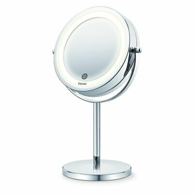Beurer 18 LED Illuminated Cosmetic Make Up Beauty Vanity Mirror 13 cm BS 55