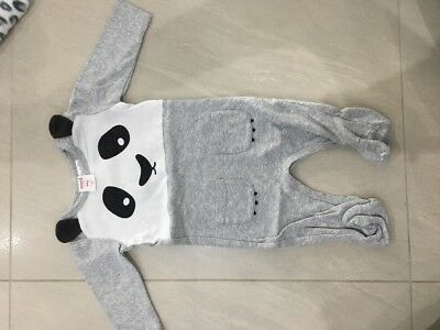Seed Long Sleeve Jumpsuit 000 0-3 Months