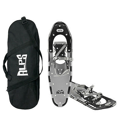 ALPS Snowshoes for Men Women Youth + Free Carrying Tote Bag, carbon steel Toe