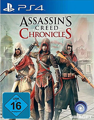 Assassin's Creed: Chronicles Trilogy (Sony PlayStation 4, 2016)