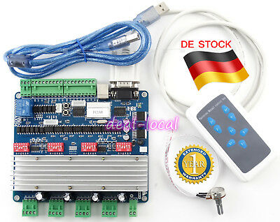 CNC 4 Axis USB Motion Controller Board & Driver Card with Control Handle