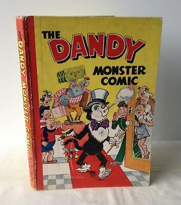The Dandy Monster Comic Annual 1949 VG - D.C. Thomson