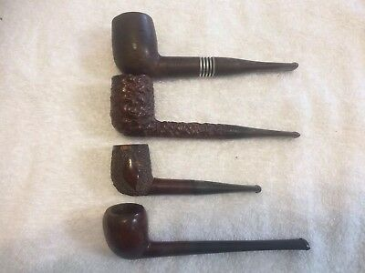 Lot of Four (4) Tobacco Pipes from an Estate Sale