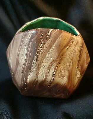 Romco USA Rocky Mountain Pottery Company Wood Grain Planter Vase