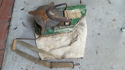 Vintage Cyclone Seeder: Improved Little Giant Seed Spreader Made In USA