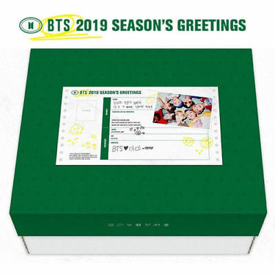 [Pre-Order] Bts - 2018 Season's Greeting, Full Package With Tracking Num, Sealed