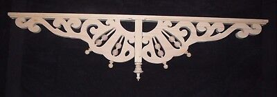 "Victorian Wood Gingerbread Trim { 44"" x 10"" } Drop Pendant Bracket #69P ~ by PLD"