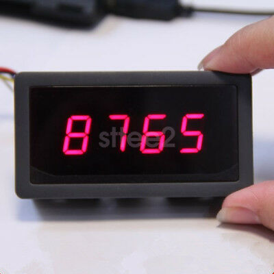 New Red 4 Digit 7 Seven Segment LED Display Controller 5V for Arduino