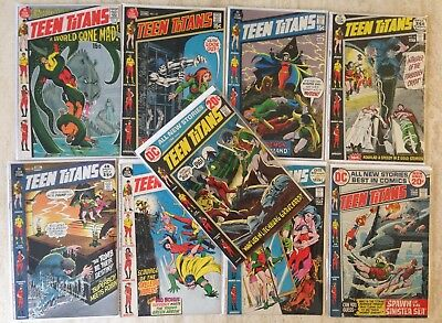 Teen Titans: Bronze Age Lot Of 19 | 32-38, 40-41, 44-53