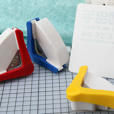 New R5mm Rounder Round Corner Trim Paper Punch Card Photo Cartons Cutter Tool FT