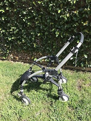 Bugaboo Bee Stroller Frame Chassis With Wheels Also Use As Car Seat Carrier