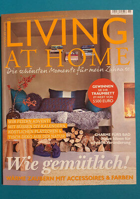 LIVING AT HOME NR.11   2017 ungelesen 1A  abs. TOP