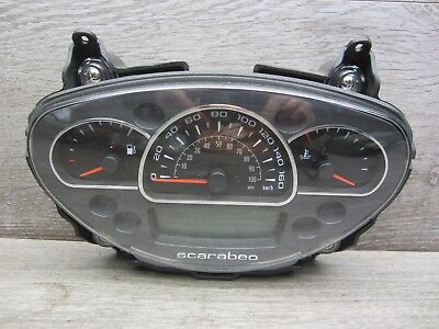 Speedometer Cockpit APRILIA SCARABEO 125 200 IE from bj.11- 1063 KM