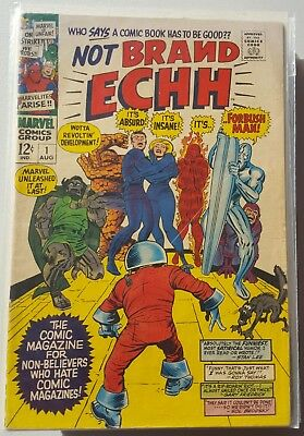 Marvel- Not Brand Echh Issues  #1, 2, And 4 – Vg+ Condition