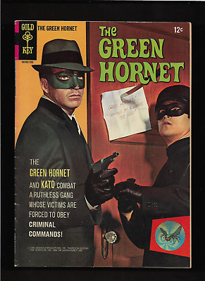 1966 1st ISSUE THE GREEN HORNET TV GOLD KEY #1 COMIC BOOK  COMPLETE HIGHER GRADE