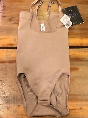Annette Secret Weapons High Back Bodyshaper Style SW-205 Size S/M Nude NWT