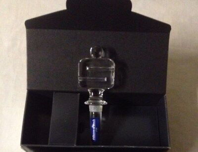 Villeroy & Boch Malt Whiskey Crystal Decanter Bottle Stopper New Boxed Gift