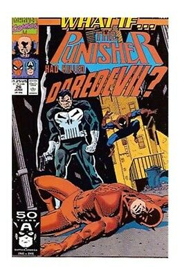 What If...? #26 (Jun 1991, Marvel) what if punisher killed daredevil