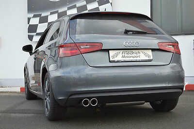 Nil Stainless Steel Exhaust Pipe Audi A3 8V 3-türer 2WD FROM YR 08/2012 1.2L