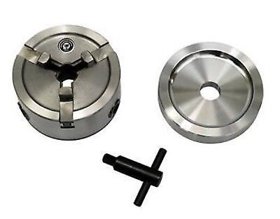 "Brake Lathe Quick Chuck Adapter / Backing Plate / Key fits Ammco any 1"" arbor."