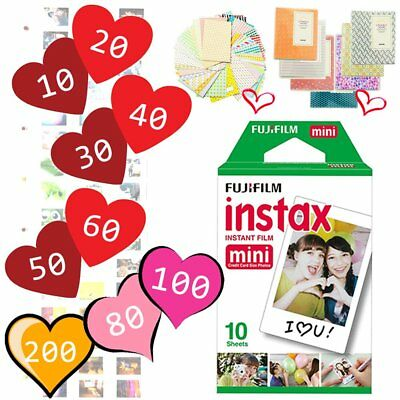Fujifilm Instax Mini White Film Fuji Instant Photos for Mini 9 Plus 90 25 300 US