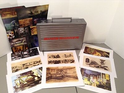 Blade Runner Brief Case W/ Conceptual Art Production Storyboard Cards
