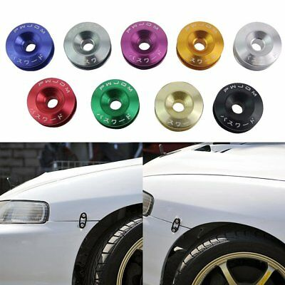 Car Quick Release Fasteners Ideal For Front Bumpers Rear Bumpers With JDM LogoF#