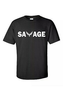 "Logan Paul ""Savage""Maverick Tee Adult/ Kids Youth T-Shirt Merch Sz:S-2XL"