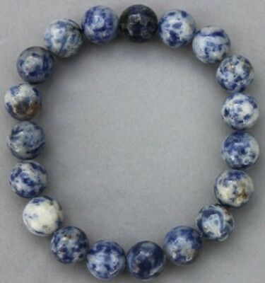 "Bracelet Sodalite 10 mm ""Large"""