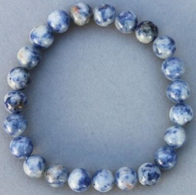 "Bracelet Sodalite 8 mm ""Large"""