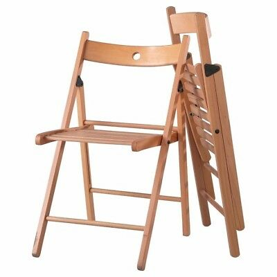 Folding Wooden Chairs FOR HIRE ONLY - NOT FOR SALE -120 available two colours
