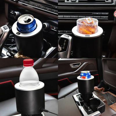 Car Cup Cooler/Warmer 12V Auto Electric Cup Cans Drink Beverage Holder Cooling