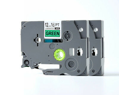 2 Compatible Brother M231 MK-231BZ Black on White Label Tape for P-touch PT-65SL