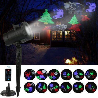 weihnachten led laser projektor licht santa claus muster. Black Bedroom Furniture Sets. Home Design Ideas