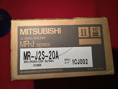 Mitsubishi AC Servo Amplifier MR-J2S-20A