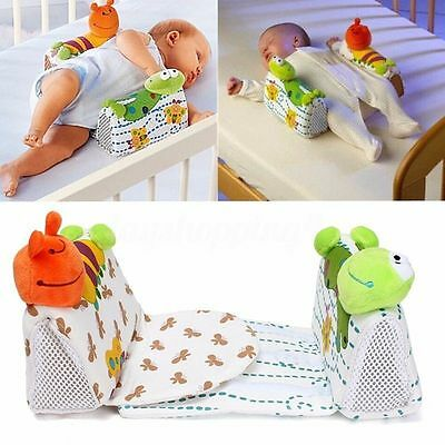 UK seller Newborn Baby Kid Infant Sleep Safe Anti Roll Support Positioner Pillow